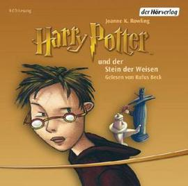 Harry Potter v němčině Harry Potter a kámen mudrců audiokniha 9CD
