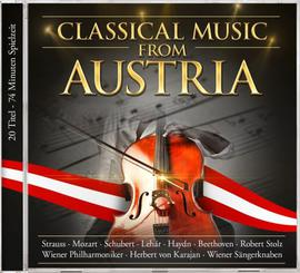 Classical Music from Austria CD