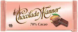Manner čokoláda Chocolade 70% kakaa