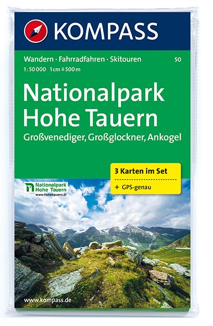 Vysoke Taury Mapa Turisticka Hohe Tauern Kompass Mapy Rakousko
