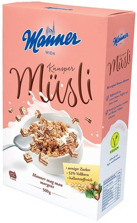 Manner müsli křupavé