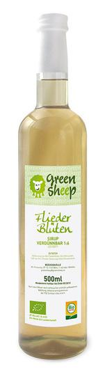 Bio sirup šeříkový Green Sheep 0,5l